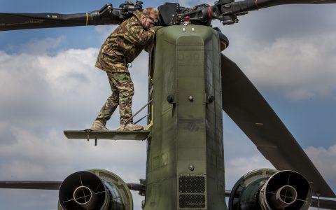 Hongarije, Airbase Papa, 17 april 2014.Tijdens de oefening Saker